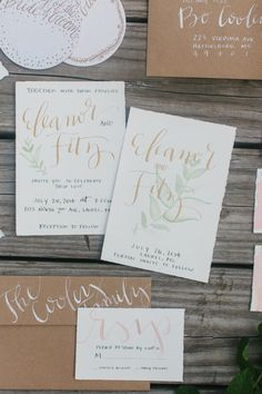 956 best wedding invitations images on pinterest wedding brown paper and white caligraphy filmwisefo