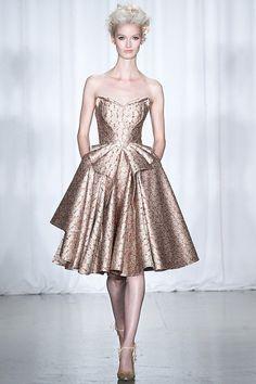 fashion week 2014 in new york | Influence and Stardoll: Zac Posen Spring 2014 | New York Fashion Week