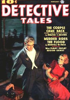 TOM LOVELL Detective Tales Cover