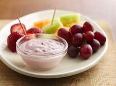 Strawberry Marshmallow Fruit Dip Recipe