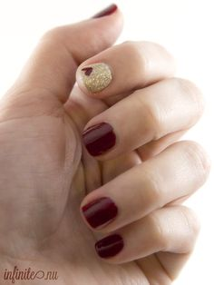 fsu game day nails