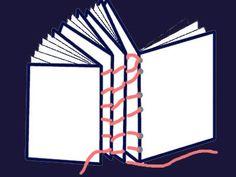 Buch selber binden aus Schulheften