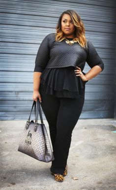 http://boardroomblonde.com/2015/01/20/one-top-2-friends-4-ways-the-black-peplum-sleeveless-top/