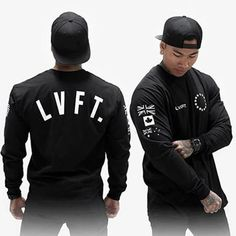 LVFT Mens cotton Sweatshirts Fashion Casual Loose Printed pullover Fitness Brand, Mens Fitness, Hoodies, Sweatshirts, Sportswear, Graphic Sweatshirt, Fitness Clothing, Pullover, Vinyls