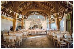 The Airedale Barn at East Riddlesden Hall Wedding