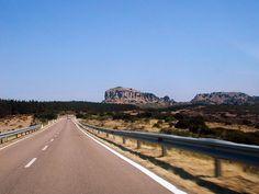 Sulla strada per Perdasdefogu - Tacchi di Jerzu (Monte longu)