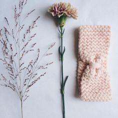 Patron pour tricoter un bandeau noué - Marie Claire