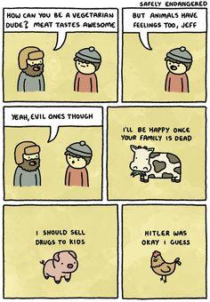 Tasty evil animals