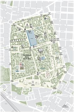 19 mapas que te enseñarán un Madrid muy diferente