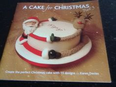 A cake for #christmas  book by #karen davies sugar craft cake #decorating,  View more on the LINK: 	http://www.zeppy.io/product/gb/2/291598784606/
