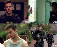 Chris Wood in the CW's Containment