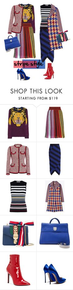 """Без названия #2577"" by marikamoshar ❤ liked on Polyvore featuring Kenzo, Missoni, Gucci, Altuzarra, Preen, Christian Dior and Jessica Simpson"