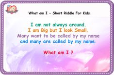 5 Letter Word English Riddles with Answers What 5 Letter Word