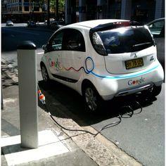 Google Electric Car