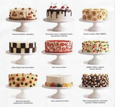 Love these quick and easy Cake Decorating Ideas for church bake sale & school cake walk!