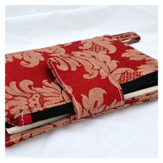 Red A5 journal cover and pencil case. Fits by UrbanTreehouse, $22.50