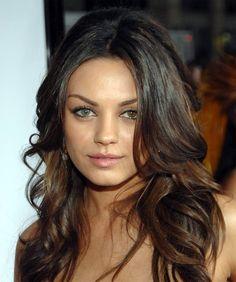 Mila Kunis hair ♡