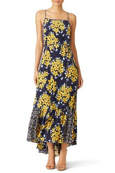 Rent Field of Daisies Maxi by Suno for & only at Rent the Runway. Rent Dresses, Casual Dresses, Summer Dresses, Formal Dresses, Daisy Field, Ladies Party, Playing Dress Up, Floral Prints, Cold Shoulder Dress