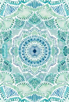 There's something about the ocean that reaches in deeply to me. The emotion of the waves, the darkness and uncertainty of what's beneath, and the sparkle above. It's a web of wonder that this #mermaid loves. This medallion print brings it all together. #mandala #medallion #mandalatapestry #towels #beachyoga