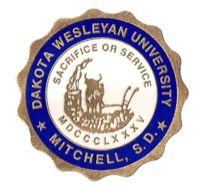 1885, Dakota Wesleyan University (Mitchell, South Dakota) #Mitchell (L13376)