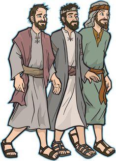 James Elston Illustration blog: 3 Bible time guys