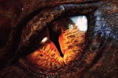 Smaug's eye in the final shot of The Hobbit: An Unexpected Journey Lord of the Rings Wiki