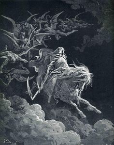 La vision de la mort. G. Doré