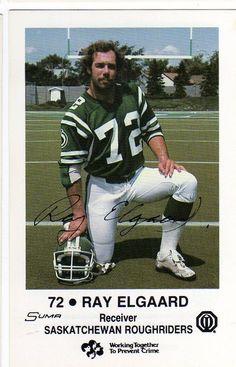 1983 Police Card Ray Elgaard Saskatchewan Roughriders Utah Utes   eBay Football Stuff, Football Cards, Football Team, Canadian Football League, American Football League, Go Rider, Saskatchewan Roughriders, Saskatchewan Canada, Association Football