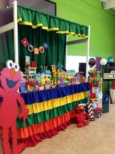 Sesame Street Birthday Party Ideas | Photo 1 of 17