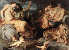 1614 - The Four Continents - Peter Paul Rubens