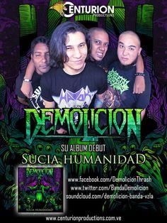 """Cresta Metálica Producciones » Demolición revela portada del su álbum debut """"Sucia Humanidad"""""""