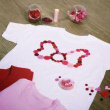 Camiseta con lazo de botones de Minnie