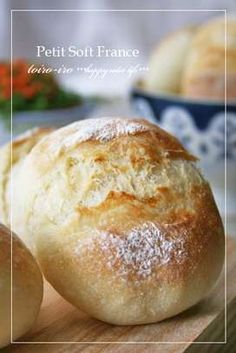 Petit French Rolls (Crispy Crust but Light and Fluffy Inside) Recipe by cookpad. Crispy Rolls, Baked Rolls, Japanese Bread, Dinner Rolls Recipe, Cooking Bread, Food Garnishes, Bread Cake, Bread Pizza, Bread Recipes