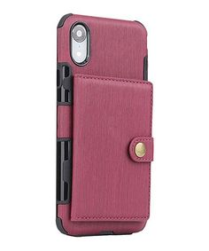 Shou Wine Brushed Wallet Phone Case | Best Price and Reviews | Zulily Refrigerator Organization, Phone Cases, Wine, Wallet, Cards, Cloths, English, Products