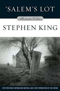 'Salem's Lot by Stephen King. This is the first book I read by Stephen King and it's one of my favorites. NOT your 'Twilight' kind of vampires! Stephen King It, Stephen King Novels, Steven King, I Love Books, Great Books, Books To Read, My Books, Salem Lot, Vampire Stories