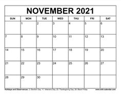 Wiki Calendar November 2021 November Calendar, 2021 Calendar, Election Day, Veterans Day, Bread Recipes, Banana Bread, Free Printables, Templates