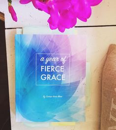 This is the first draft of the #fiercegracecollective book by Carrie-Anne Moss