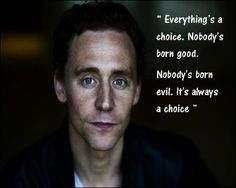 tom hiddleston quotes | tom hiddleston quote | Tumblr | Quotes/ Things that I think are cool
