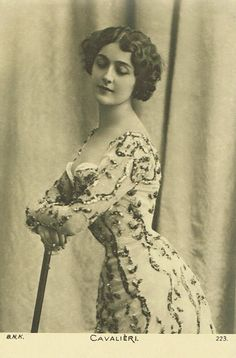 Lina Cavalieri by TheVintageProphecy on Etsy