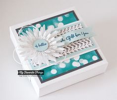 Patterned Paper : MFT Meets the Envelope Punch Board
