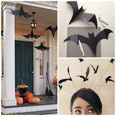 Bald ist wieder Halloween. Habt ihr schon die passende Deko parat? Die Schablonen findet ihr hier http://www.marthastewart.com/852559/hanging-bats und hier http://www.marthastewart.com/960499/charmed-costumes-bat-band  #eco #green #greenthinking #fair #nachhaltig #sustainable #holz #plastic #waste #art #recycling #DIY #doityourself #follow #pint #halloween