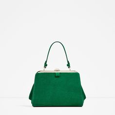 ZARA - COLLECTION SS/17 - MINI SPLIT SUEDE CITY BAG