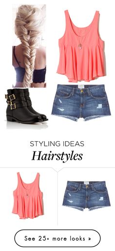 """""""As grade 10 teacher"""" by bubble-loves-you on Polyvore featuring Current/Elliott, Rupert Sanderson, women's clothing, women's fashion, women, female, woman, misses and juniors"""
