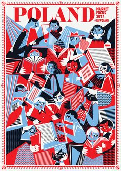 London Book Fair 2017 Poland on Behance