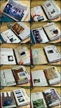 Journal ideas smash book, carnet bullet journal, art journal inspiration, j Journal Ideas Smash Book, Journal Pages, Junk Journal, Journal Inspiration, Sketchbook Inspiration, Smash Book Inspiration, Memory Journal, Journal Art, Journal Prompts