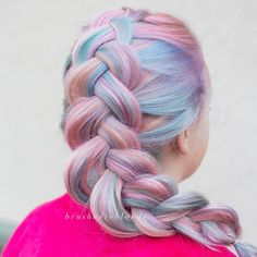 Danielle Hess (@brushedtoblonde) on Instagram: Unicorn Hair