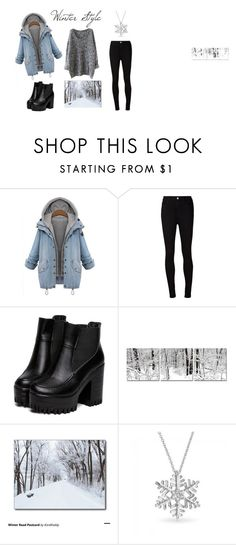 """Winter Style #1"" by unicorntommo on Polyvore featuring мода, AG Adriano Goldschmied и Bling Jewelry"