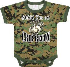 SAM! military baby clothes | Military Army Woodland Digital Camo Print Baby Infant 1pc Bodysuit ...