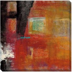 Maeve Harris 'Four Squares I' Giclee Canvas Art | Overstock™ Shopping - Top Rated Canvas