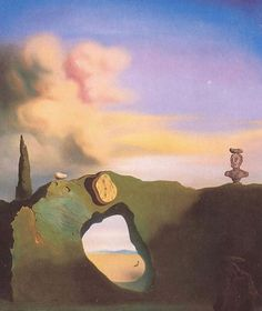 Salvador Dali - The Triangular Hour, 1933 - Surrealism Period Salvador Dali Quotes, Salvador Dali Gemälde, Salvador Dali Paintings, Magritte, Pablo Picasso, Salvador Dali Photography, Art Visionnaire, Francis Picabia, Kagoshima